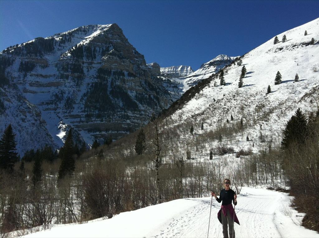 snowshoeing Sundance, utah